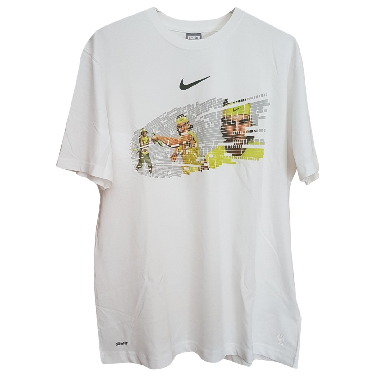 Nike \N T-Shirts in  Weiss Baumwolle