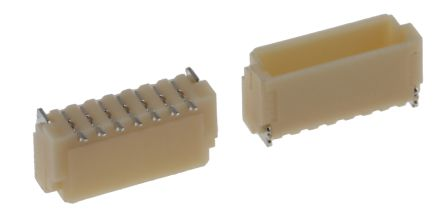 JST , SH, 7 Way, 1 Row, Straight PCB Header (10)