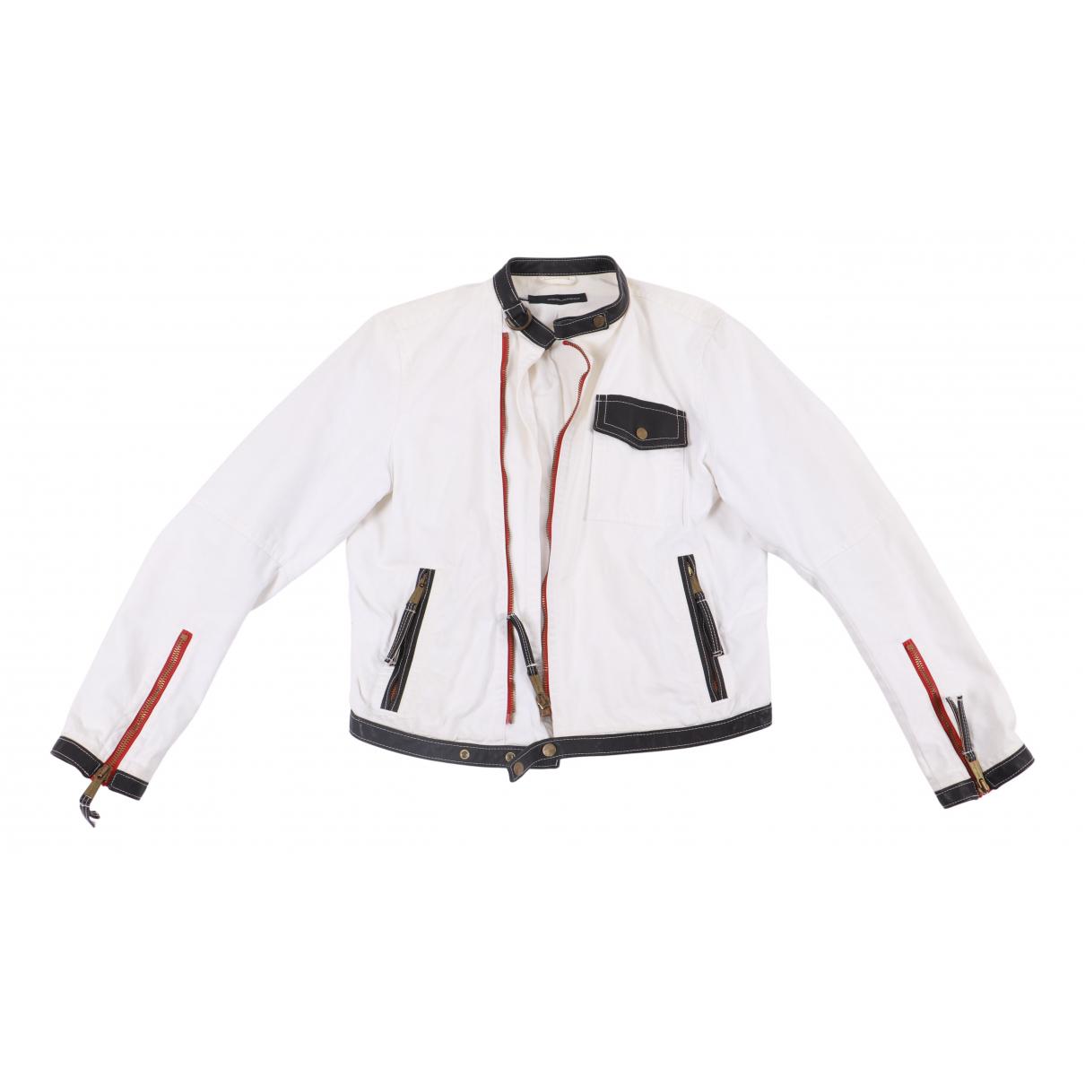 Dsquared2 - Veste   pour femme en coton - blanc