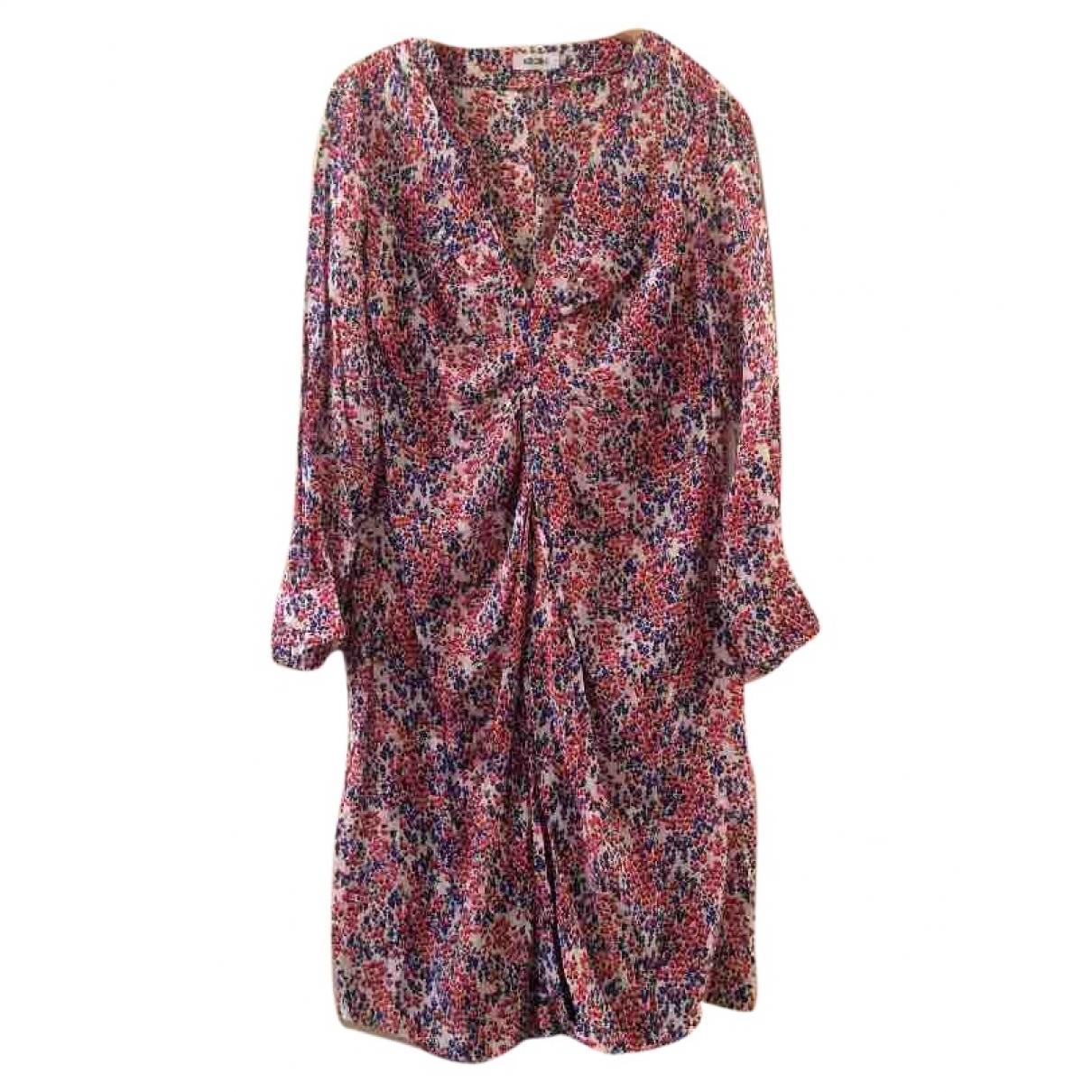 Moschino \N Multicolour Silk dress for Women 42 IT