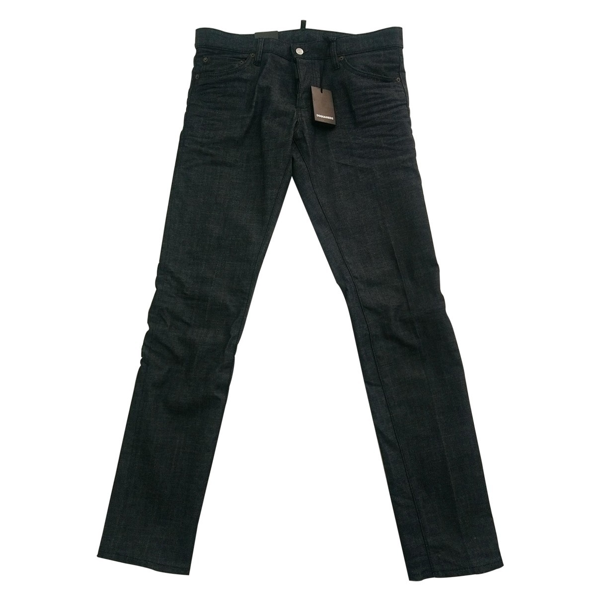 Dsquared2 \N Black Cotton Jeans for Men 40 FR