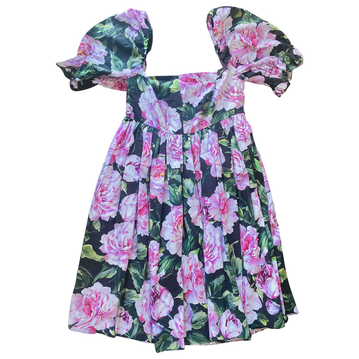 Dolce & Gabbana \N Kleid in  Rosa Baumwolle