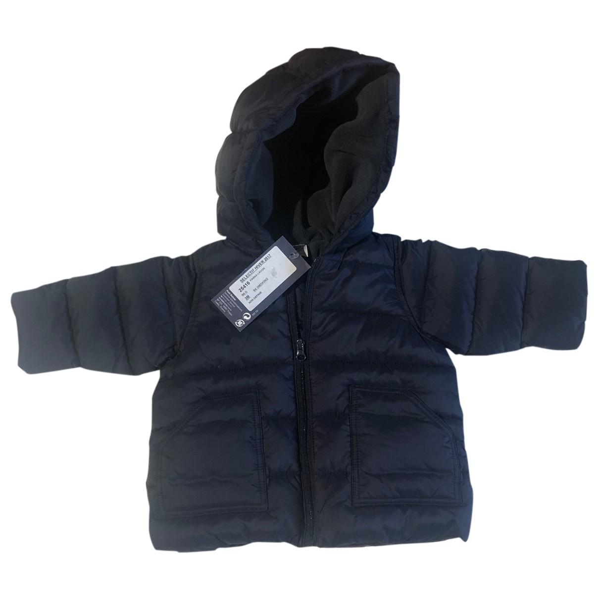 Petit Bateau - Blousons.Manteaux   pour enfant - bleu