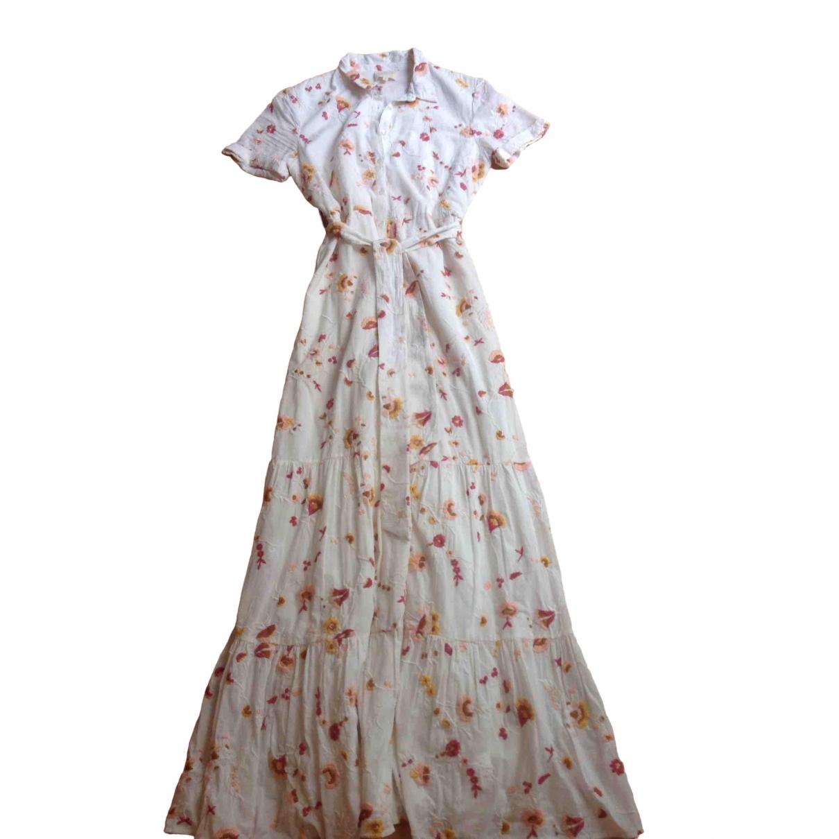 Sézane Spring Summer 2019 White Cotton dress for Women 36 FR