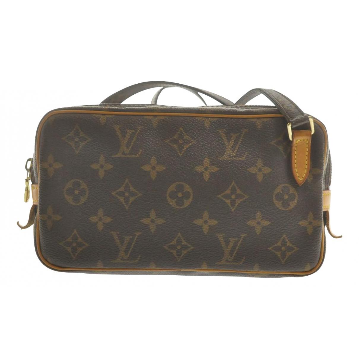 Bandolera Marly vintage de Lona Louis Vuitton
