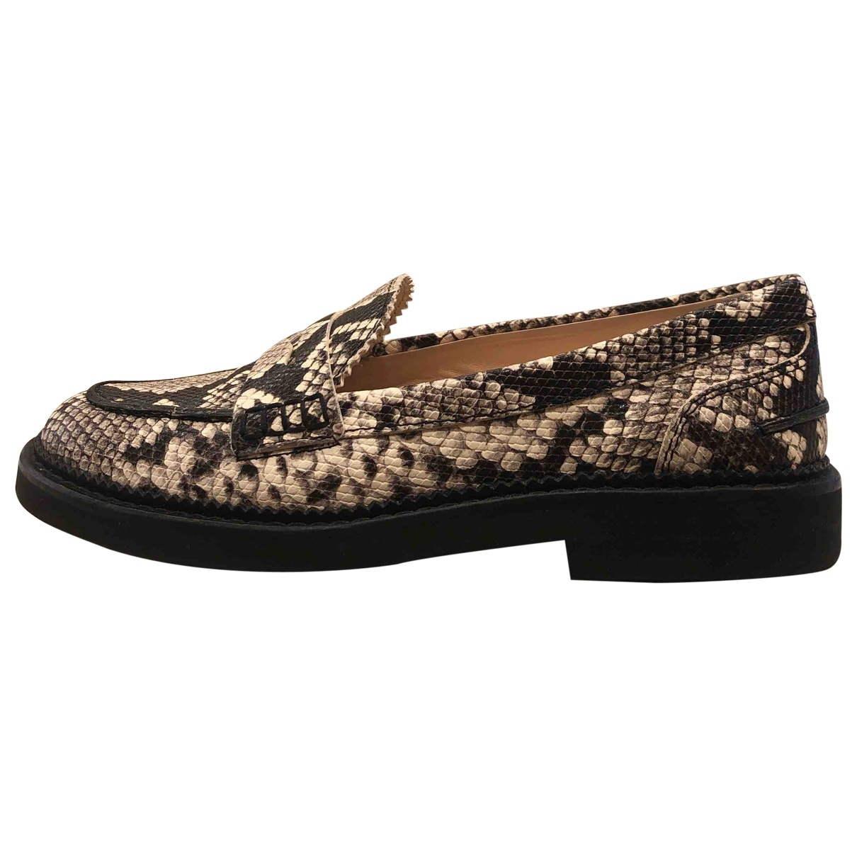 Tod's \N Leather Flats for Women 37 EU