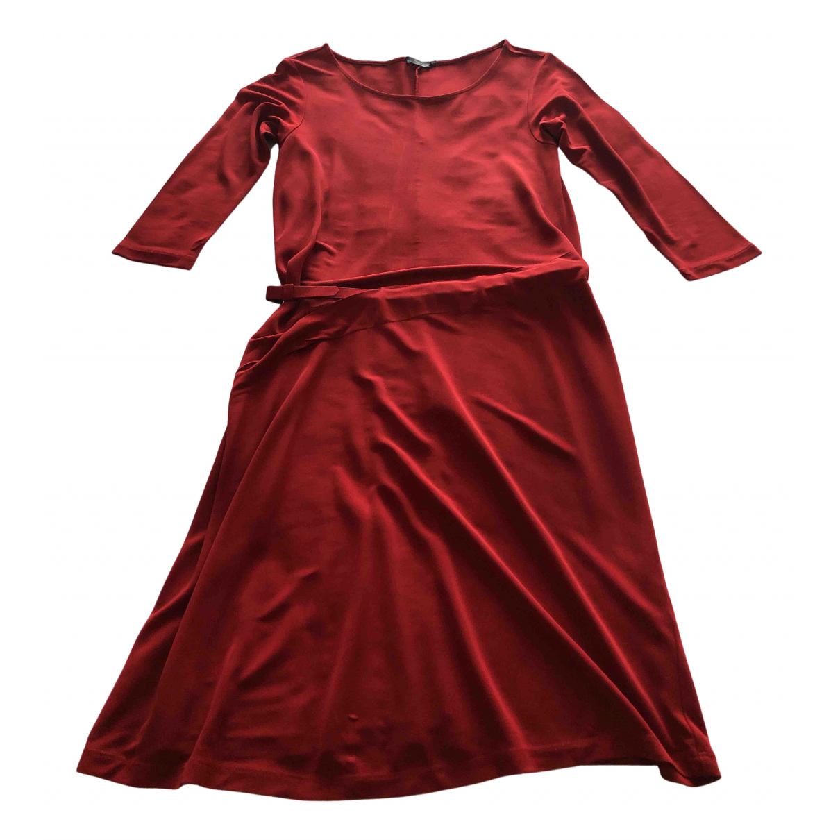 Filippa K \N Kleid in  Rot Viskose