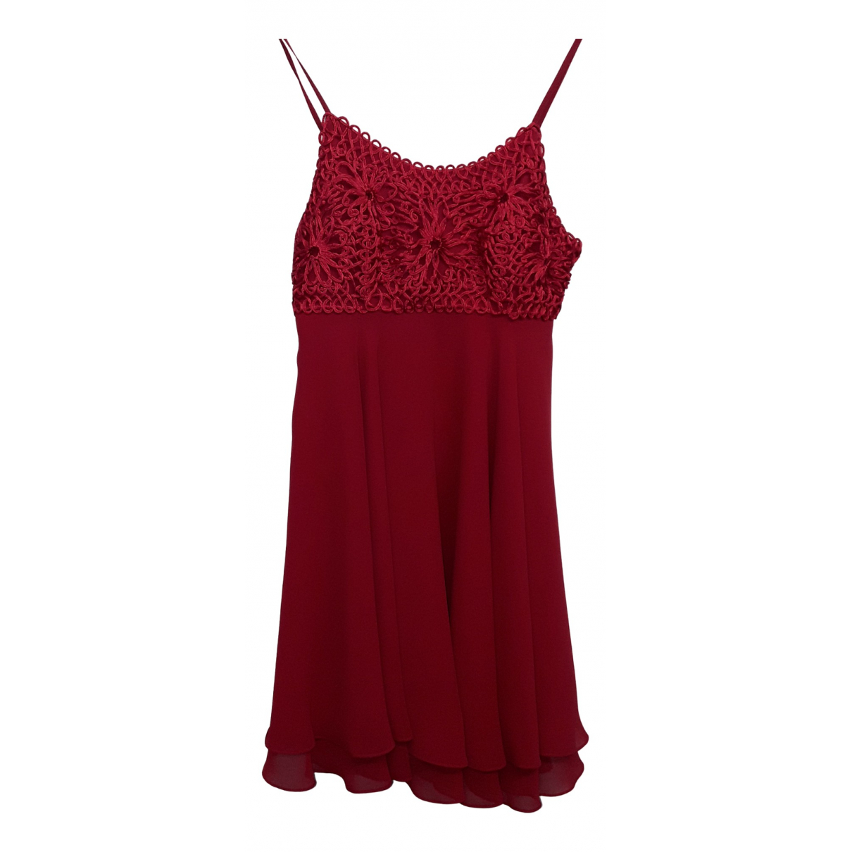Non Signé / Unsigned N Red dress for Women S International