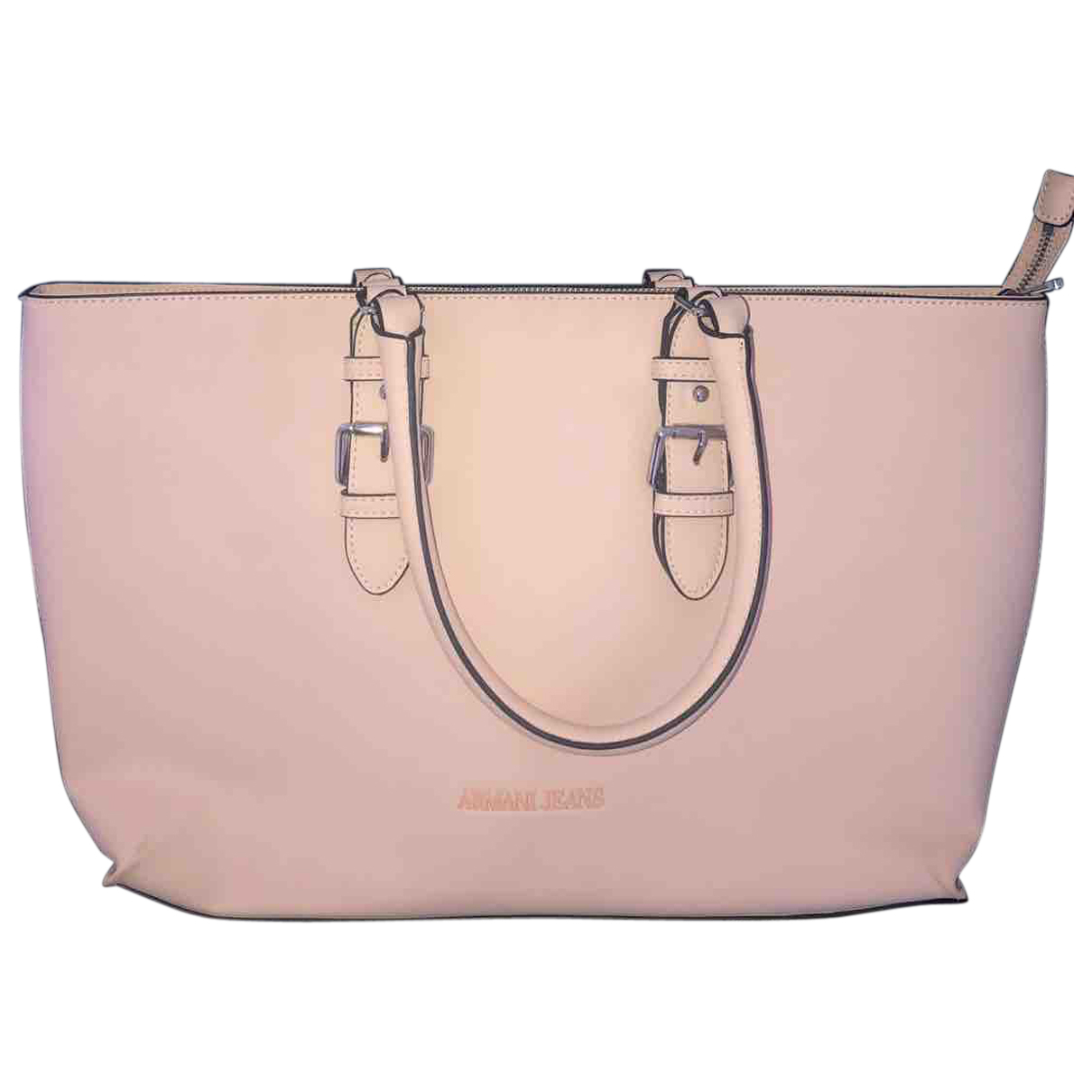 Armani Jeans \N Handtasche in  Rosa Leder