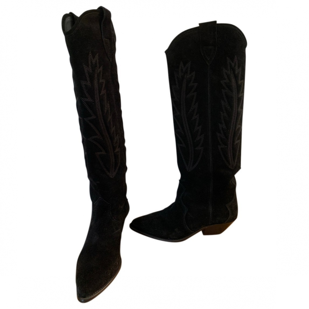 Isabel Marant \N Black Suede Boots for Women 40 IT