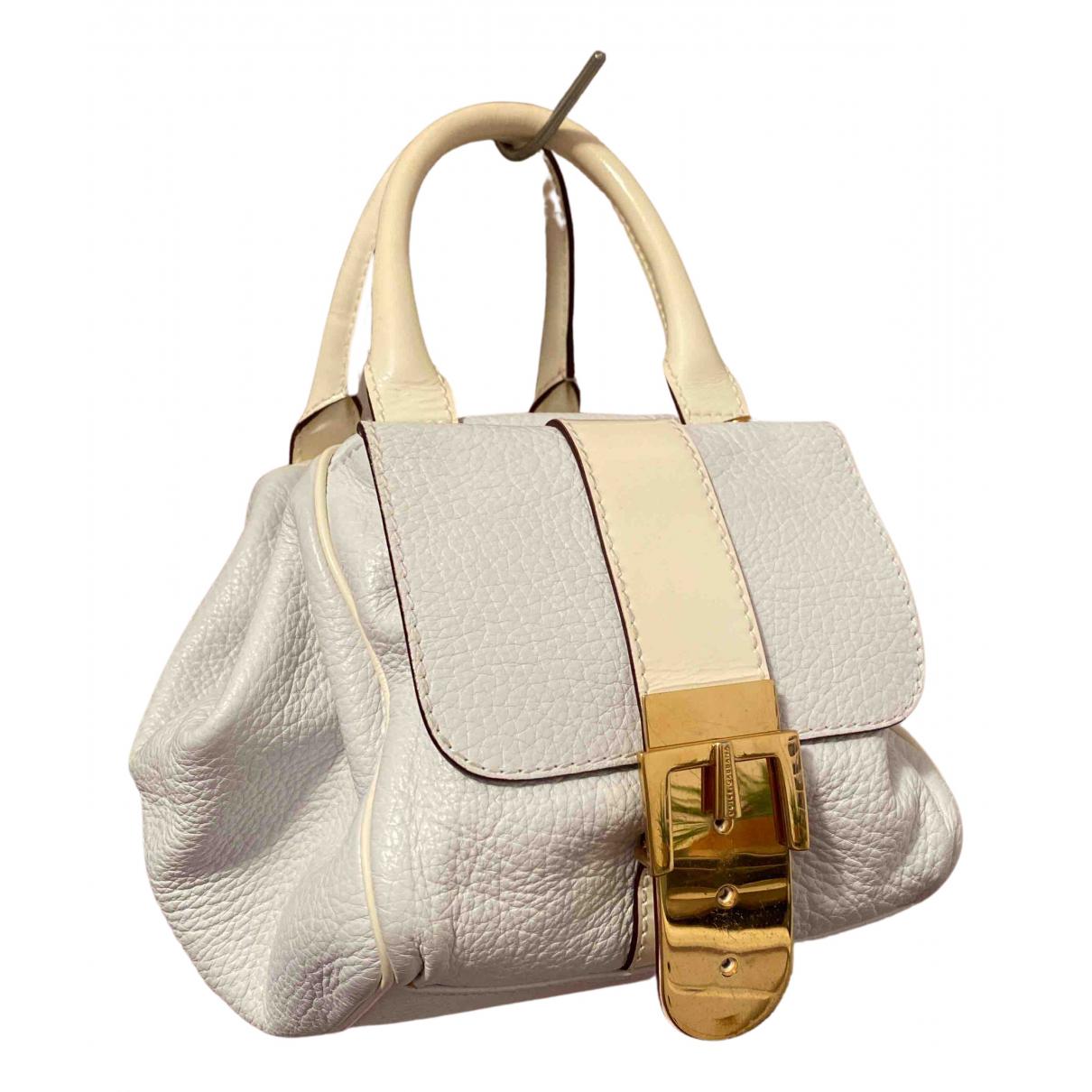 Dolce & Gabbana \N Handtasche in  Weiss Leder