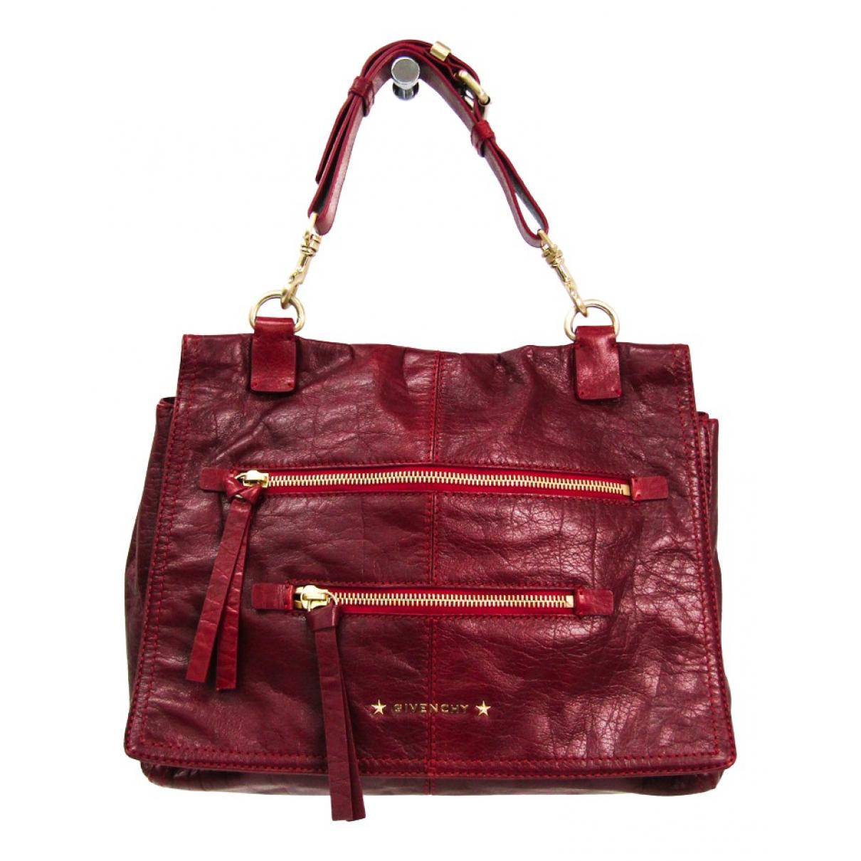 Givenchy - Sac a main   pour femme en cuir - rouge