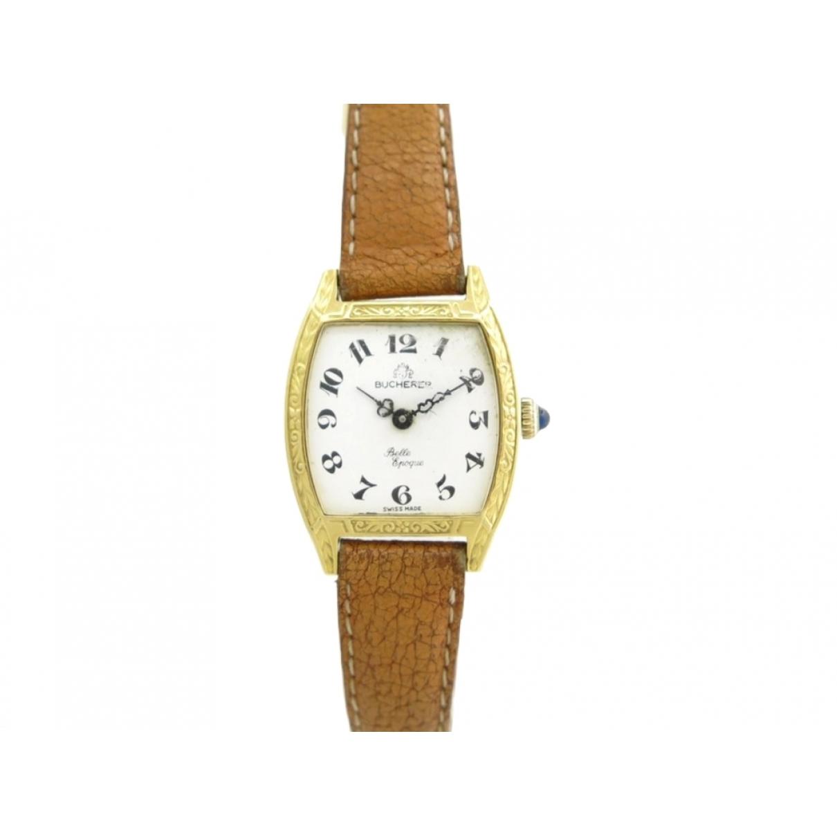 Carl F. Bucherer \N Uhr in  Gold Gelbgold