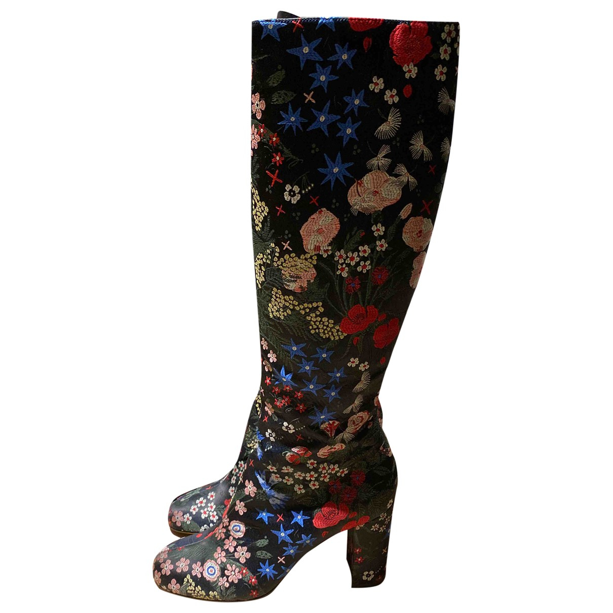 Valentino Garavani N Multicolour Cloth Boots for Women 39 EU