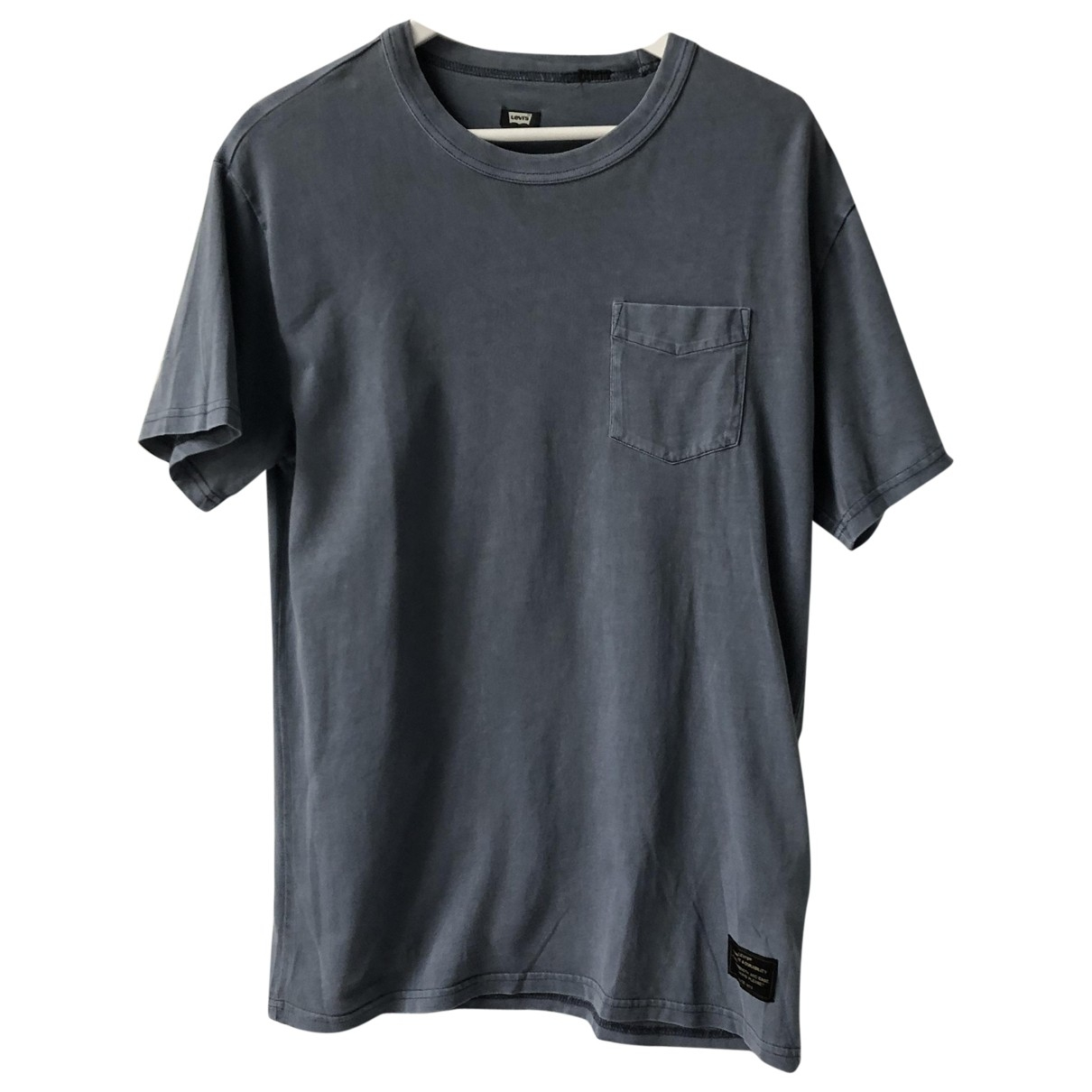 Levis \N Grey Cotton T-shirts for Men M International