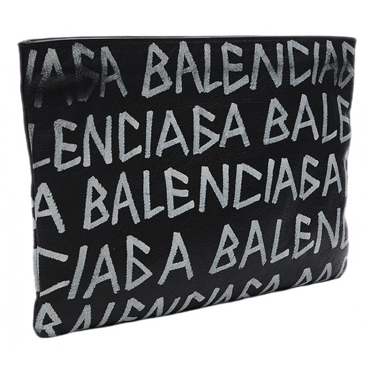 Balenciaga \N Black Leather Clutch bag for Women \N