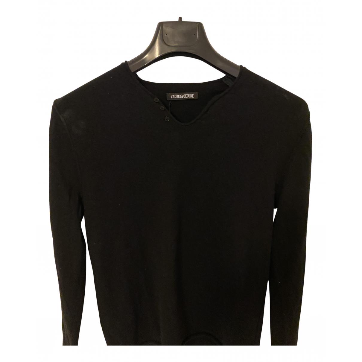 Zadig & Voltaire - Pulls.Gilets.Sweats Fall Winter 2019 pour homme en laine - noir