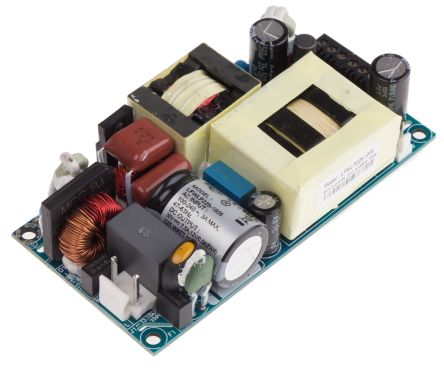 EOS , 225W Embedded Switch Mode Power Supply SMPS, 30V dc, Open Frame