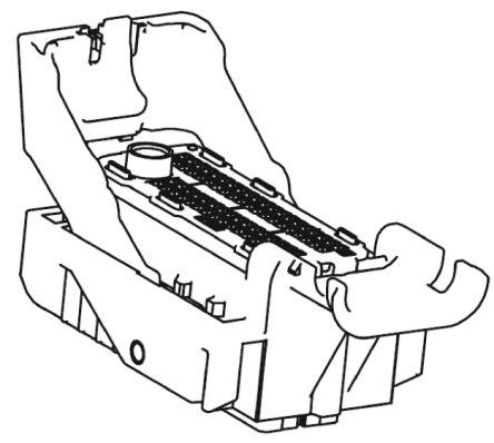 Molex , MX123 Automotive Connector Socket 4 Row 73 Way, Grey