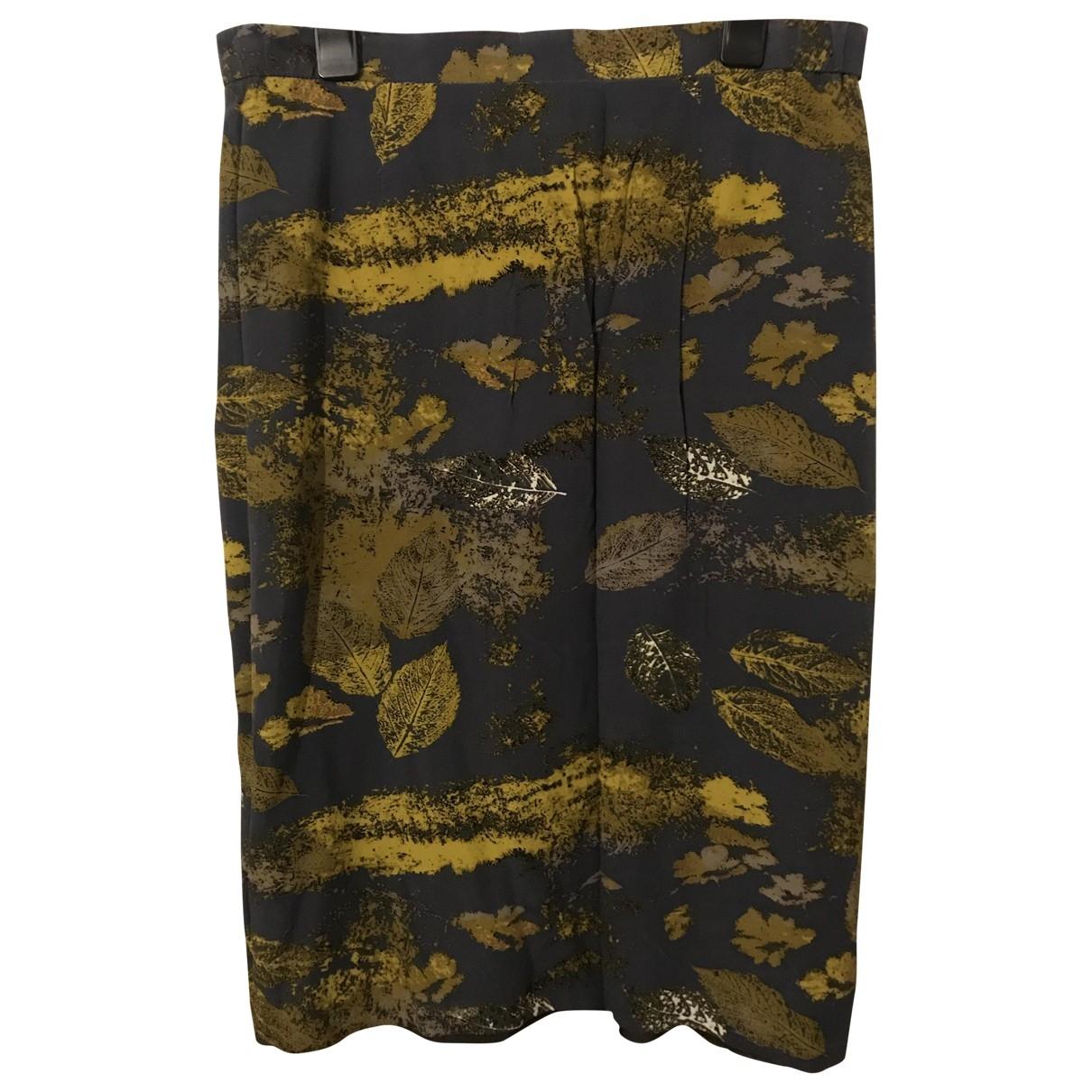Givenchy \N Rocke in  Grau Seide