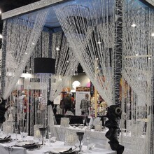 5M Crystal Bead Decorative String Curtain