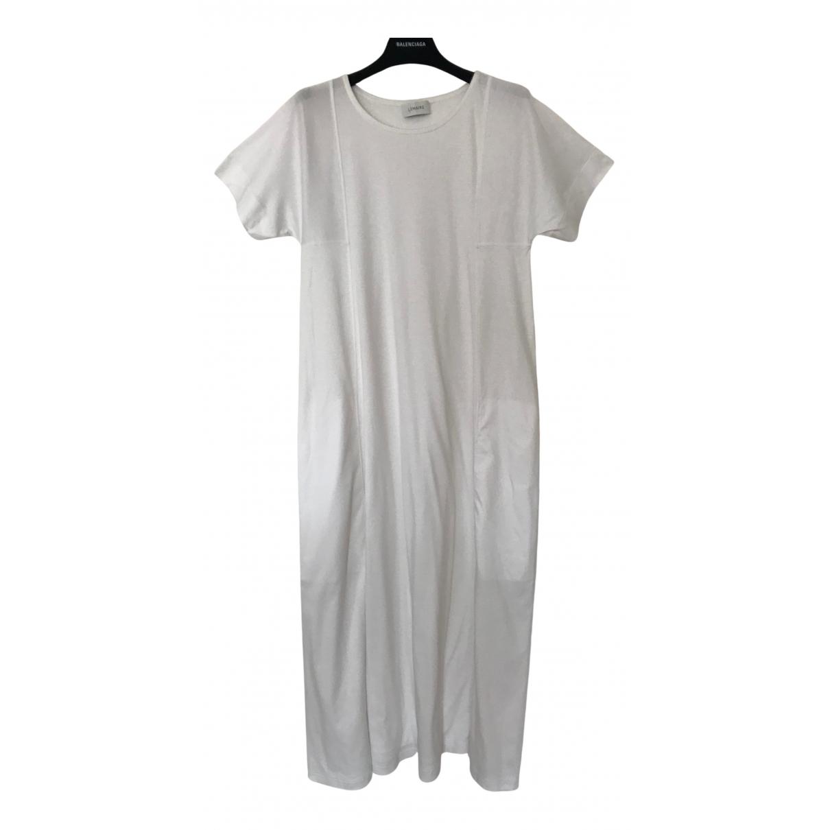 Lemaire \N Kleid in  Weiss Baumwolle