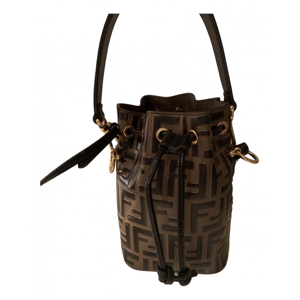 Fendi Mon Trésor Brown Leather handbag for Women N