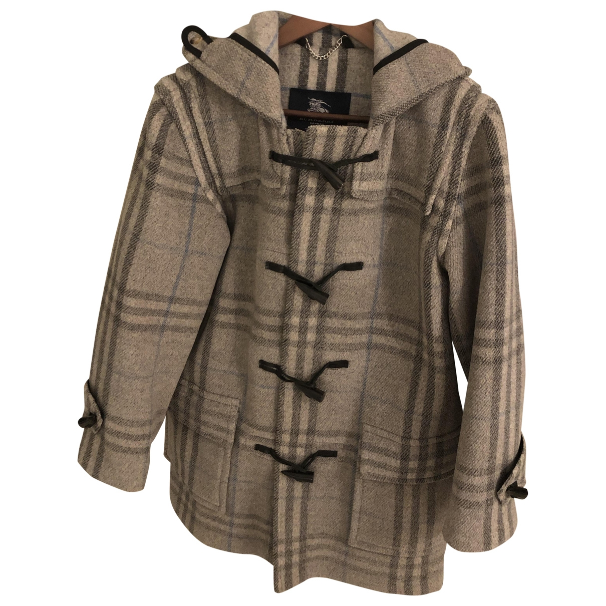 Burberry \N Maentel in  Bunt Wolle
