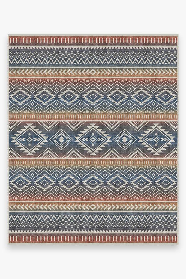 Washable Rug Cover & Pad | Arizona Polychrome Rug | Stain-Resistant | Ruggable | 8'x10'