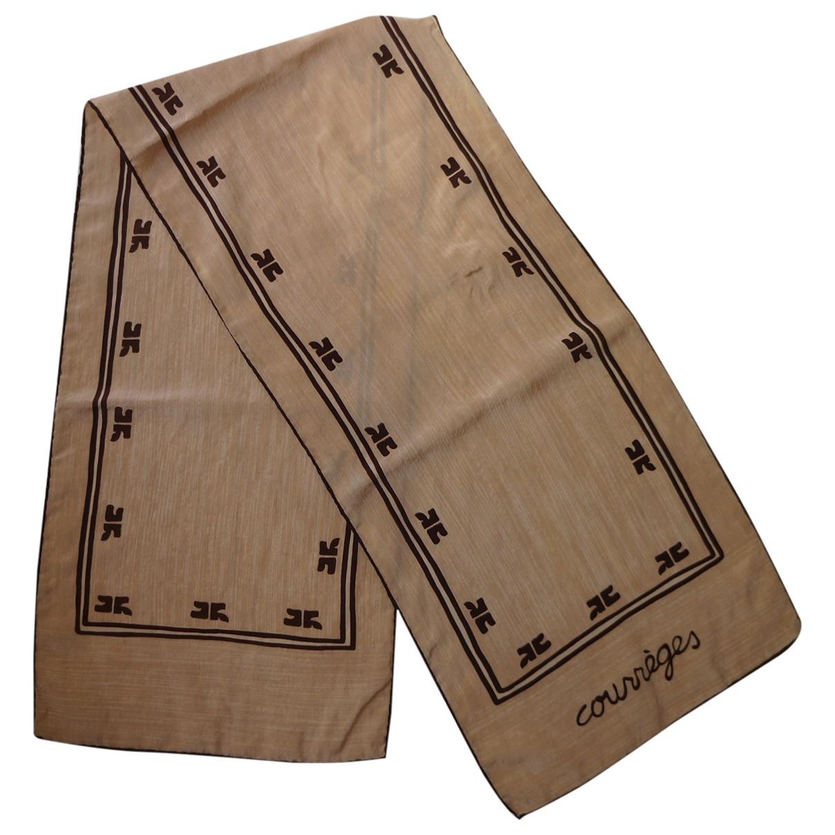 Courreges - Foulard   pour femme en soie