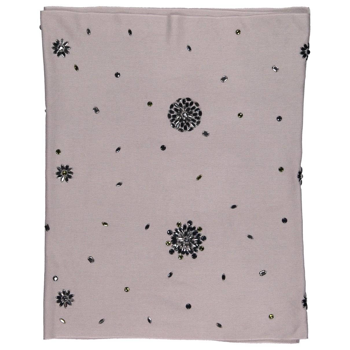 Dior \N Grey Cashmere scarf for Women \N