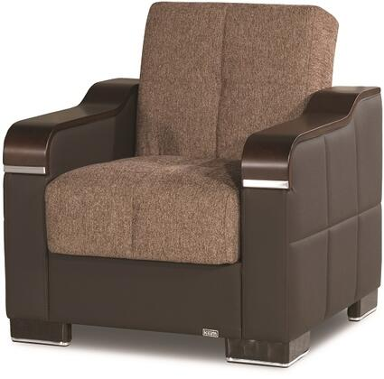 Uptown Collection UPTOWN ARMCHAIR BROWN 05-370 32