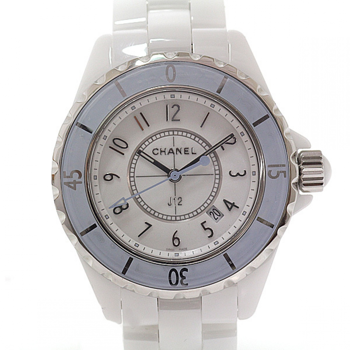 Chanel J12 Quartz Silver Ceramic watch for Women \N