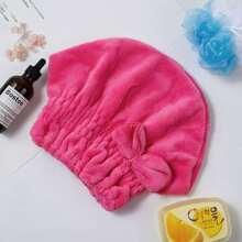 Schleife verzierte Haar trocknende Kappe