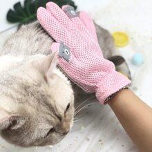 1 Stueck Katze Haarentfernung Massagehandschuh