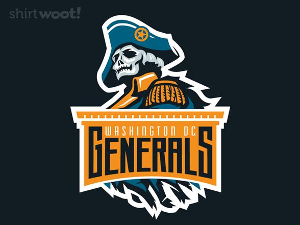 Washington Dc Generals T Shirt