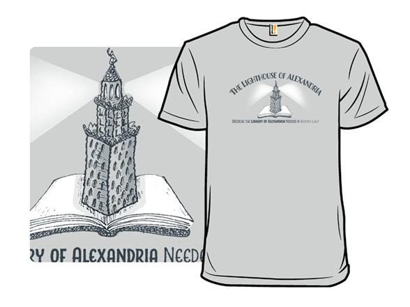 Alexandria's Wonders T Shirt