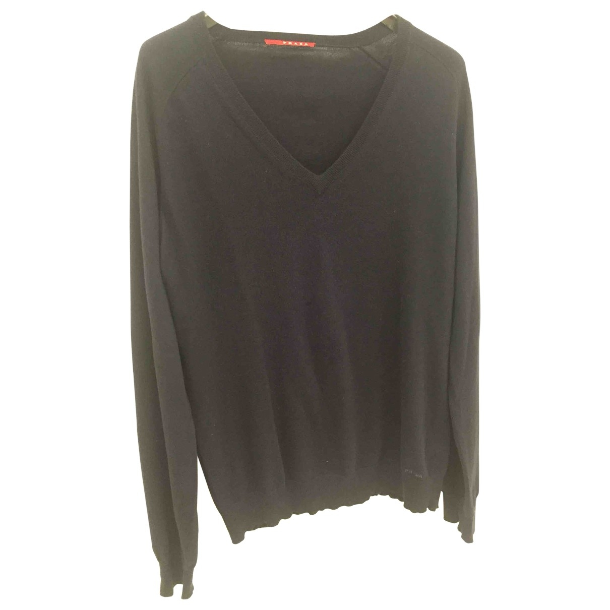 Prada \N Blue Cotton Knitwear & Sweatshirts for Men 52 IT