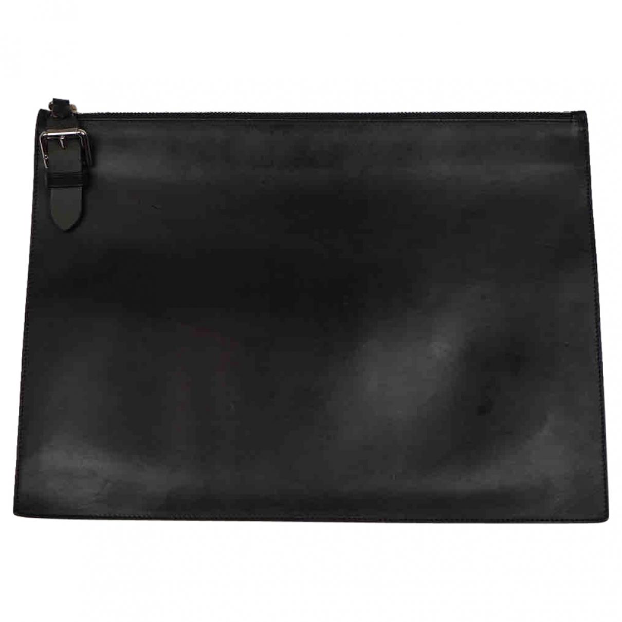 Ralph Lauren - Petite maroquinerie   pour homme en cuir - noir