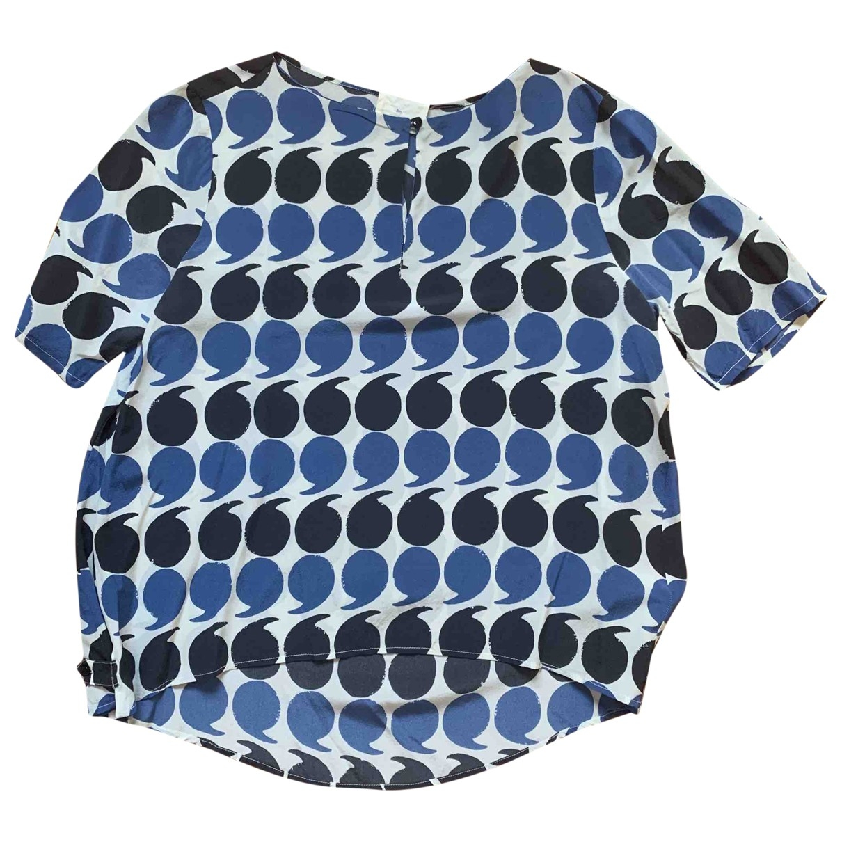 Band Of Outsiders \N Blue Silk  top for Women 3 0-5
