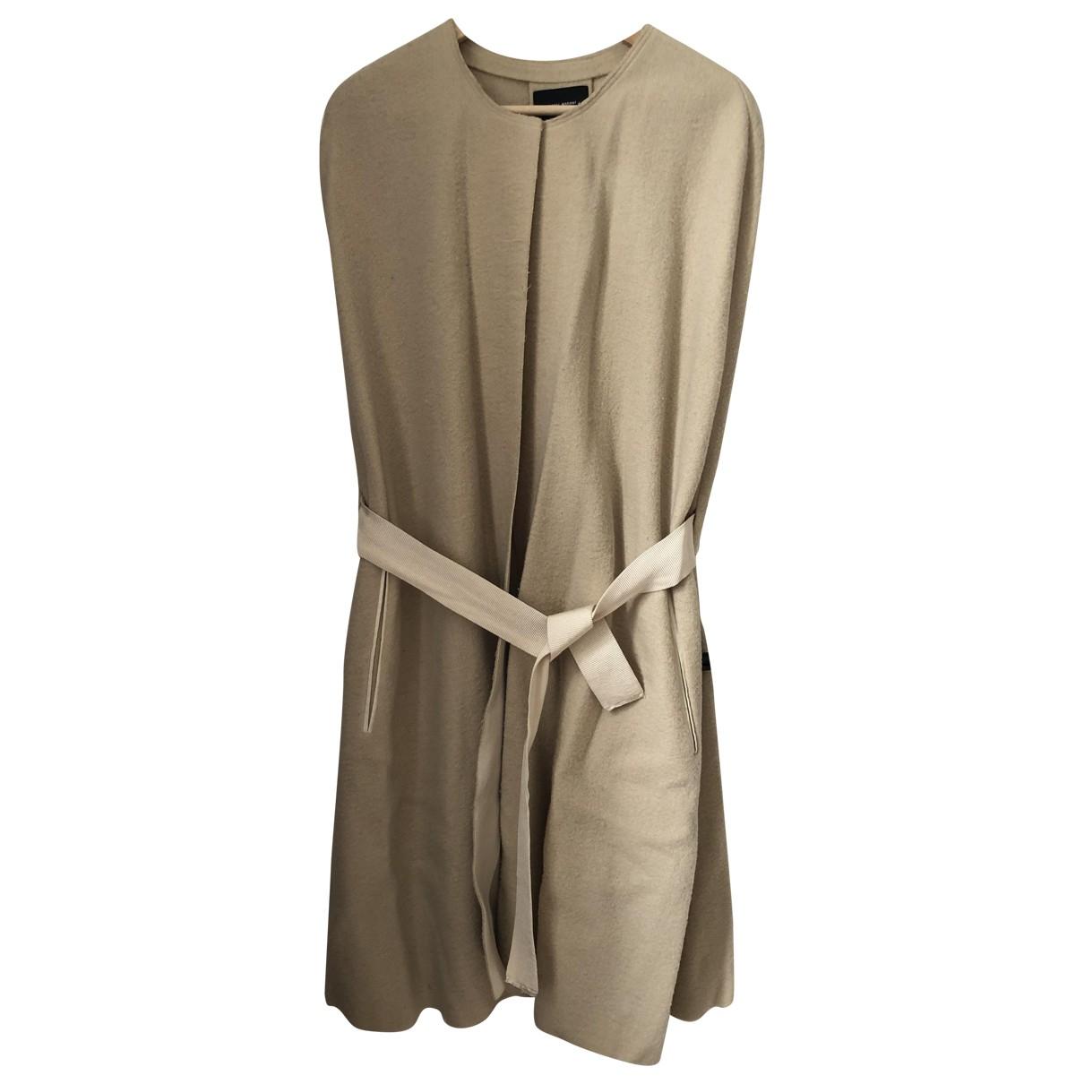 Isabel Marant - Veste   pour femme en laine - beige