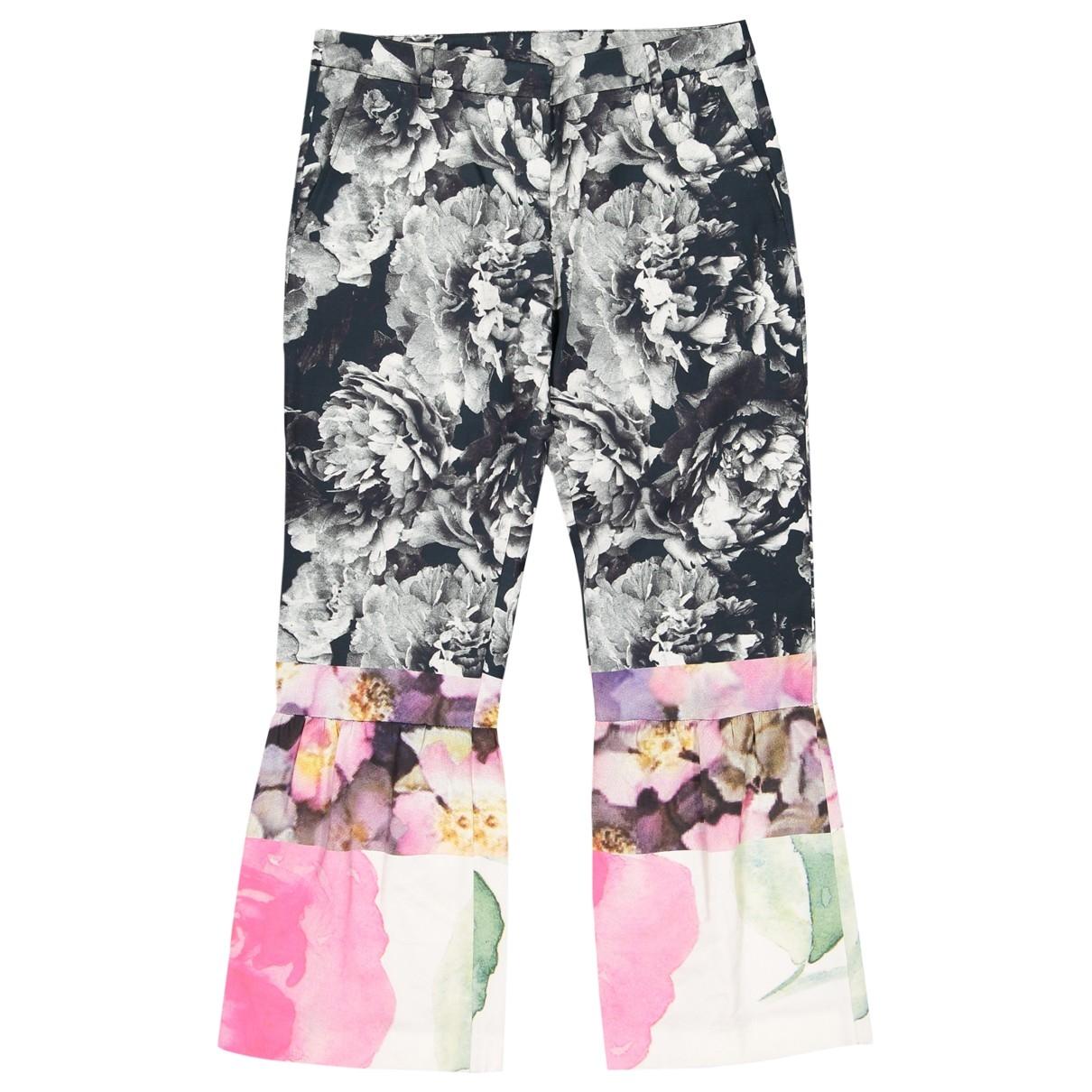 Dries Van Noten \N Multicolour Trousers for Women 36 IT