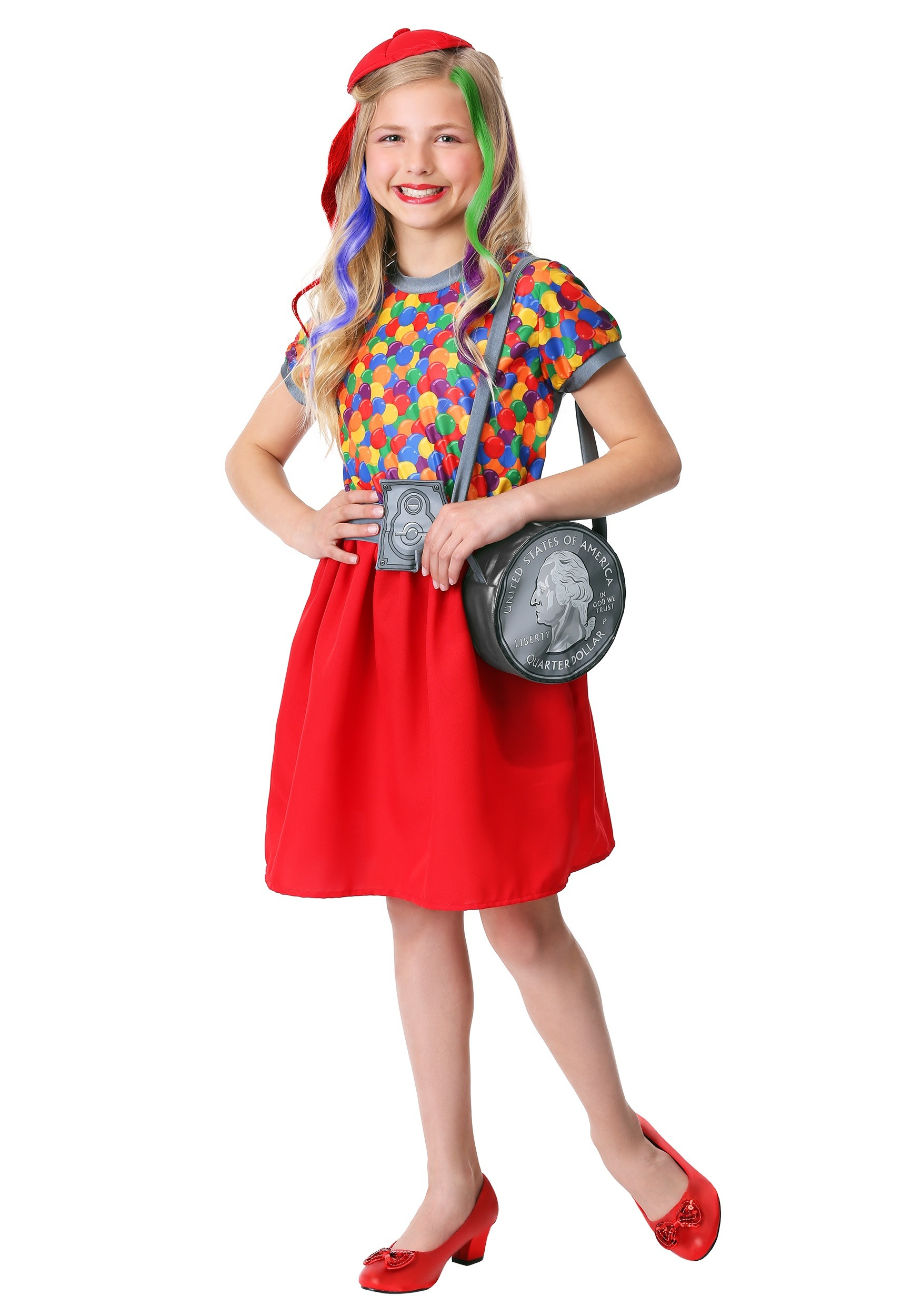 Gumball Machine Girl's Costume