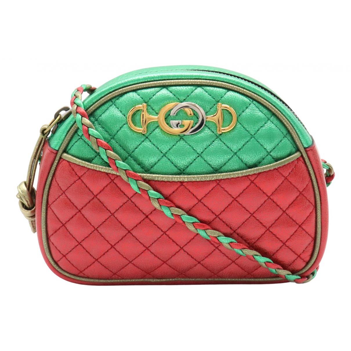 Gucci - Sac a main Laminated pour femme en cuir - multicolore