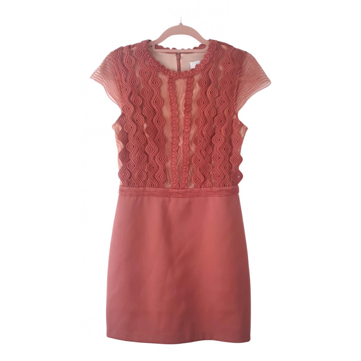 Reiss - Robe   pour femme - rose