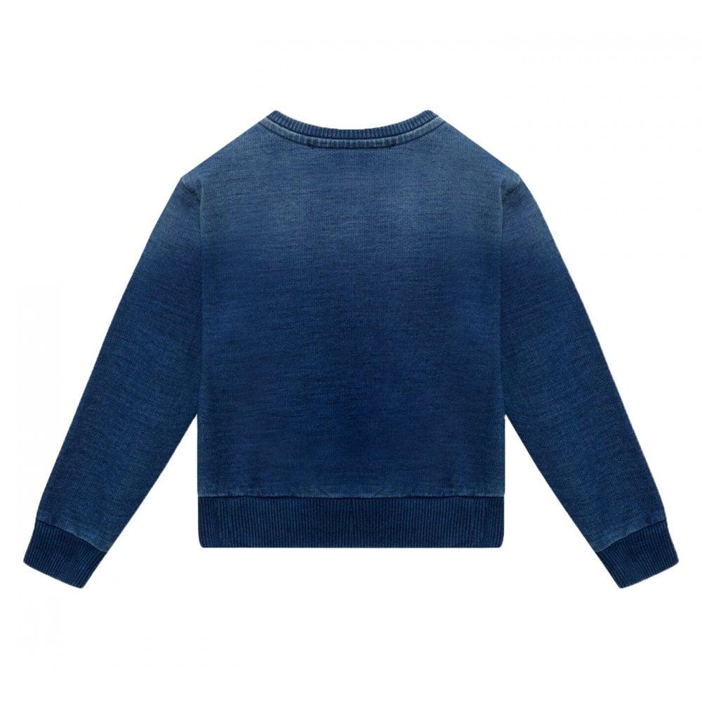 Versace Baby Cotton Blue Sweater Size: 24/30, Colour: BLUE