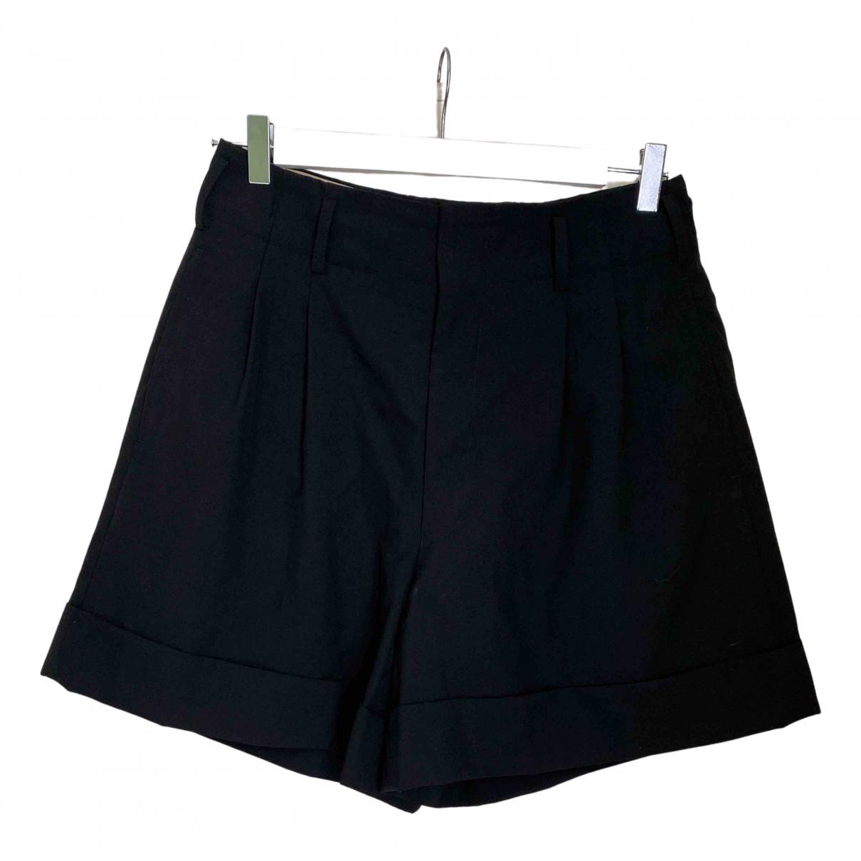 Comme Des Garcons \N Shorts in  Schwarz Wolle