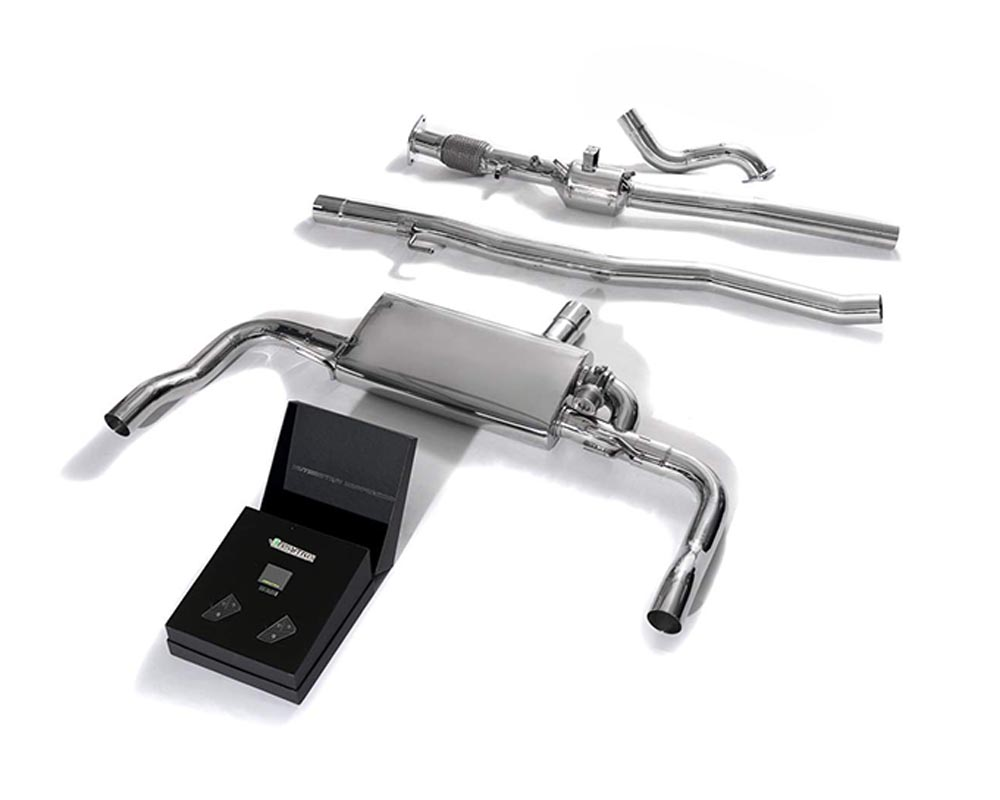 ARMYTRIX Stainless Steel Valvetronic Exhaust System Mercedes-Benz CLA35 AMG C118 2019-2021