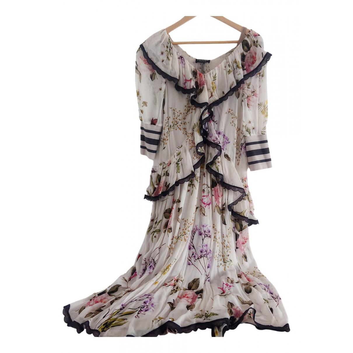 Twin Set \N Kleid in  Bunt Viskose