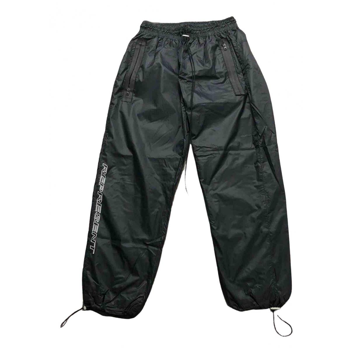 Represent \N Black Trousers for Men L International